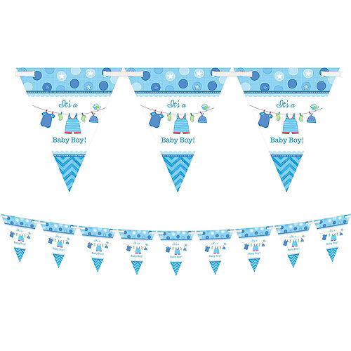 It's a Boy Premium Baby Shower Kit for 32 Guests Image #3