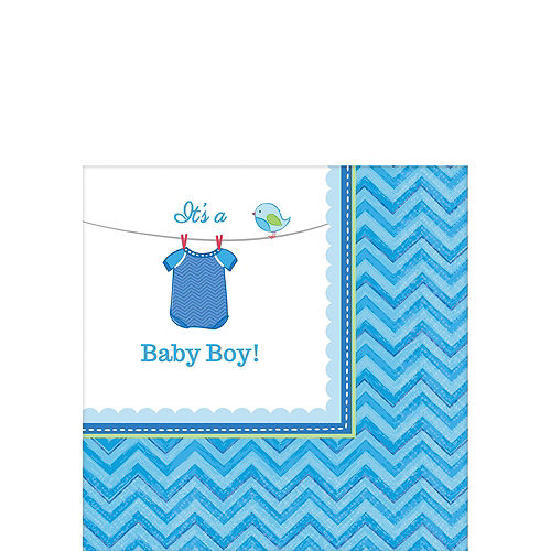 It's a Boy Premium Baby Shower Kit for 32 Guests Image #9