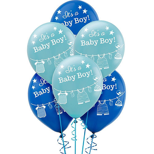 It's a Boy Premium Baby Shower Kit for 32 Guests Image #12