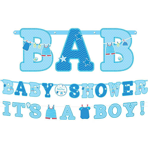 It's a Boy Premium Baby Shower Kit for 32 Guests Image #17