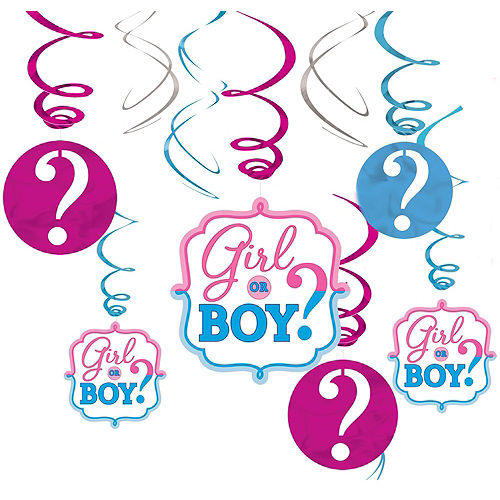 Girl or Boy Premium Gender Reveal Party Kit for 32 Guests Image #9