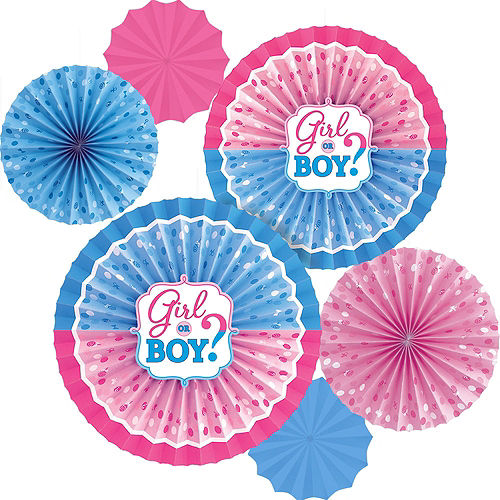 Girl or Boy Premium Gender Reveal Party Kit for 32 Guests Image #11
