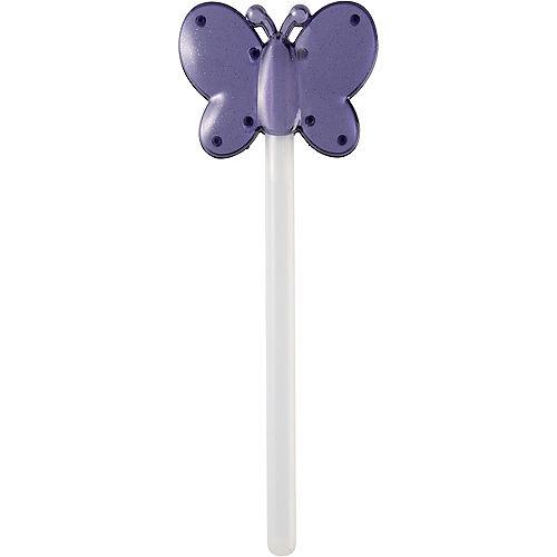 Purple Butterfly Glow Wand Image #3