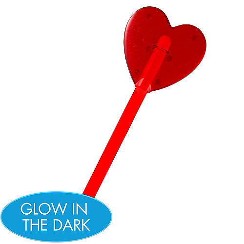 Red Heart Glow Wand Image #1