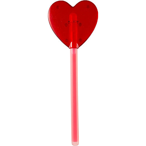 Red Heart Glow Wand Image #3
