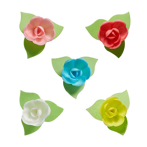 Rose Icing Decorations 9ct Image #1