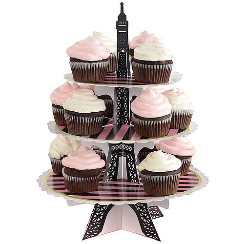 A Day in Paris Cupcake Stand Image #1