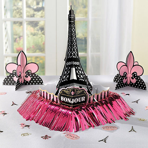 A Day in Paris Table Decorating Kit 23pc Image #2