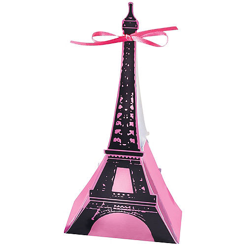 A Day in Paris Favor Boxes 12ct Image #2