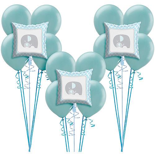 Blue Baby Elephant Balloon Kit 18ct Image #1