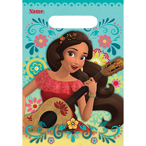 Elena of Avalor Favor Bags 8ct Image #1