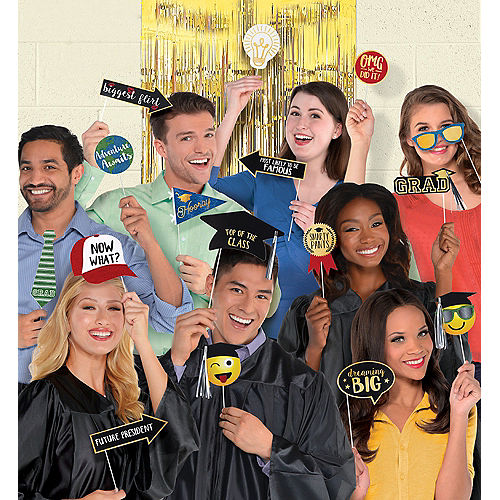 Graduation Photo Booth Kit 21pc Image #1