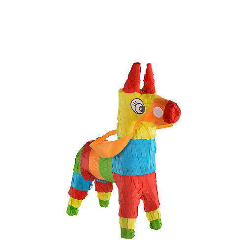 Mini Donkey Pinata Decoration Image #1