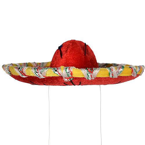 Mini Red Sombrero Image #3