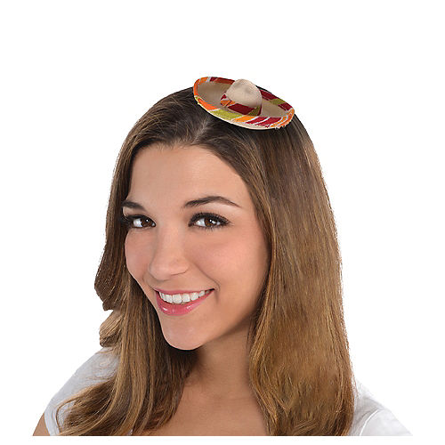Mini Sombrero Hair Clip Image #1