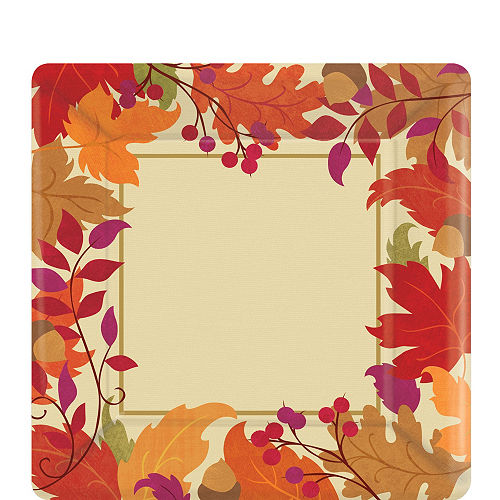 Festive Fall Tableware Kit for 36 Guests Image #2