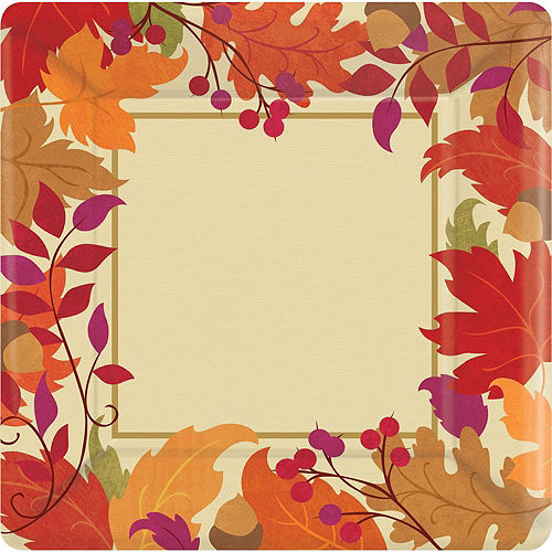 Festive Fall Tableware Kit for 36 Guests Image #3