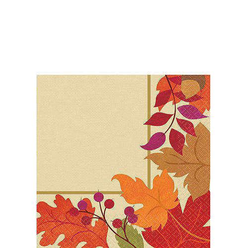 Festive Fall Tableware Kit for 36 Guests Image #4