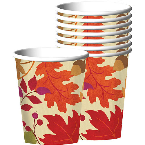 Festive Fall Tableware Kit for 36 Guests Image #6
