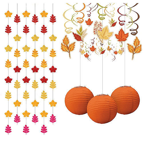 Fall Leaves Decorating Kit Image #1