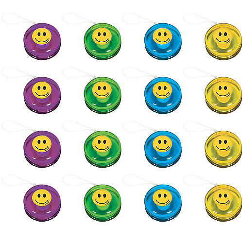 Smiley Yo-Yos 16ct Image #1