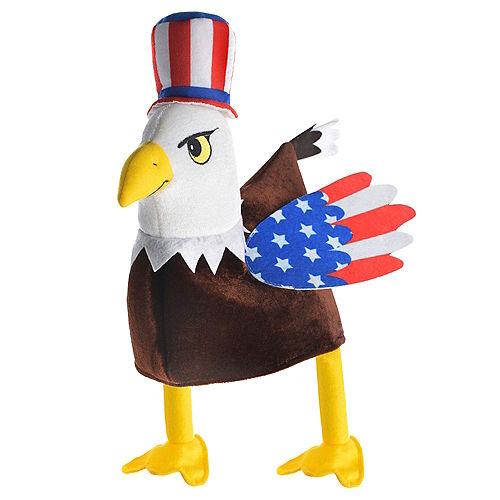 Plush Patriotic Bald Eagle Hat Image #2