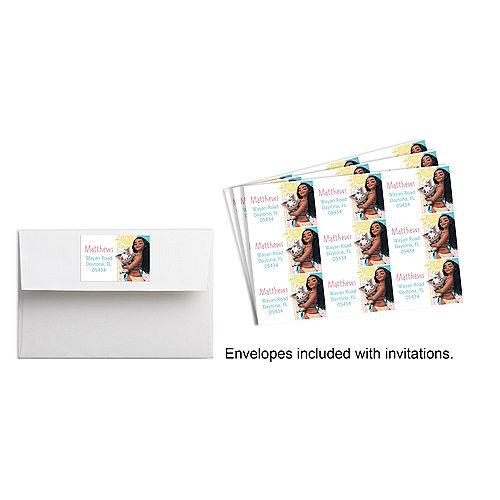 Custom Moana Stickers Image #1
