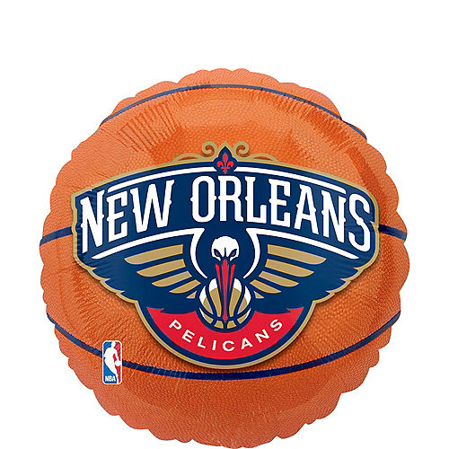 New Orleans Pelicans Balloon - Basketball Image #1