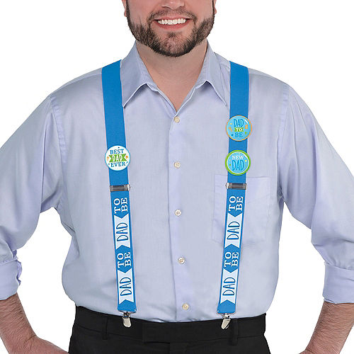 Dad-to-Be Suspenders Image #2