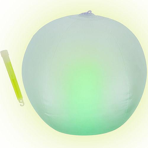 Glow-in-the-Dark Beach Ball Image #1