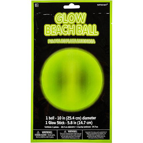 Glow-in-the-Dark Beach Ball Image #2