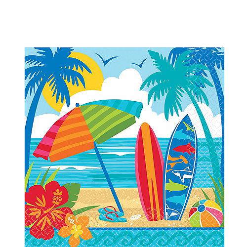 Sun & Surf Beach Lunch Napkins 36ct Image #1