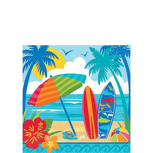 Sun & Surf Beach Beverage Napkins 36ct Image #1