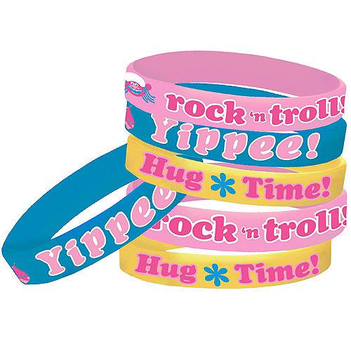 Trolls Wristbands 6ct Image #1