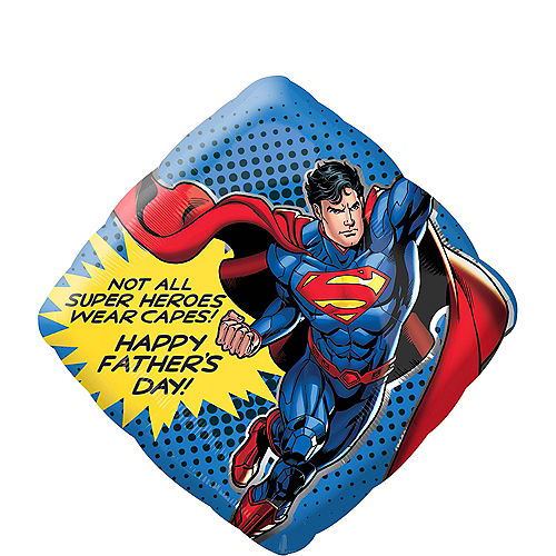 Giant Superman Father's Day Balloon, 29in Image #1