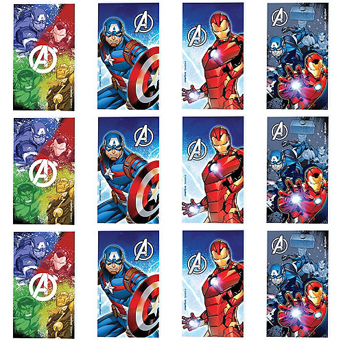 Avengers Notepads 12ct Image #1