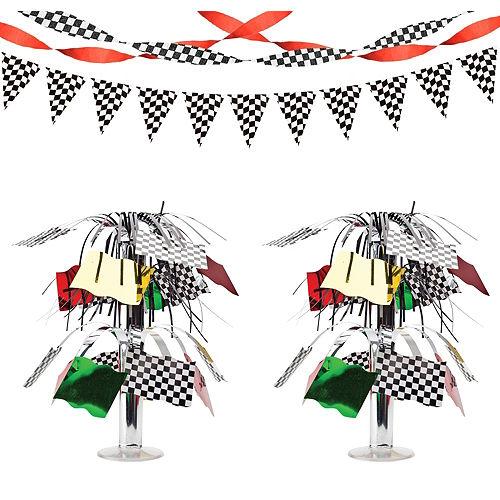 Car Racing Decorating Kit Image #1