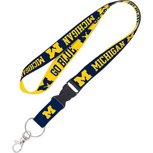 Michigan Wolverines Lanyard Image #1