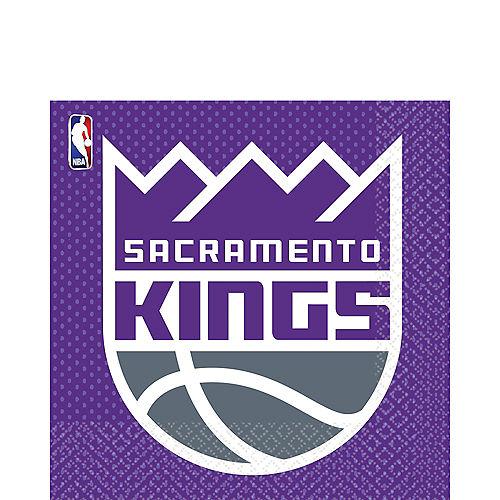 Sacramento Kings Lunch Napkins 16ct Image #1