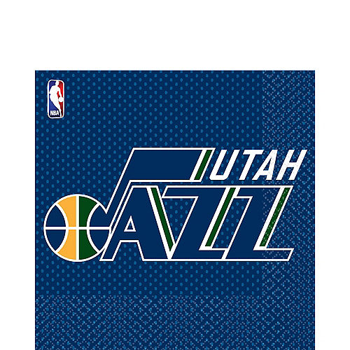 Utah Jazz Lunch Napkins 16ct Image #1