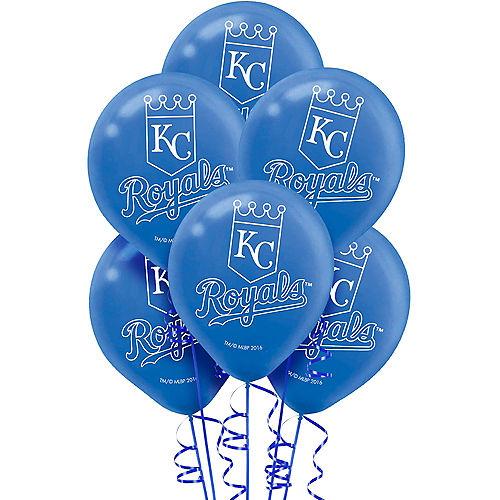 Kansas City Royals Balloons 6ct Image #1