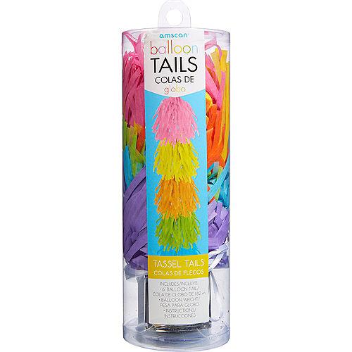 Pastel Tassel Balloon Weight Tail Image #2