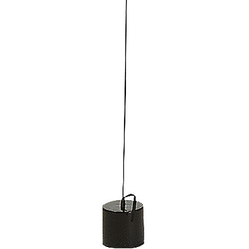 Black, Silver & Gold Tassel Balloon Weight Tail Image #3