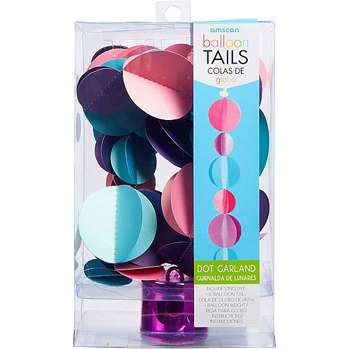 Pastel Dots Balloon Weight Tail Image #2