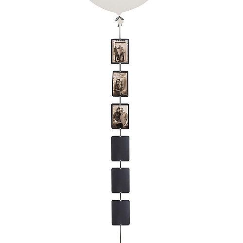 Black Photo Balloon Weight Tail Image #1