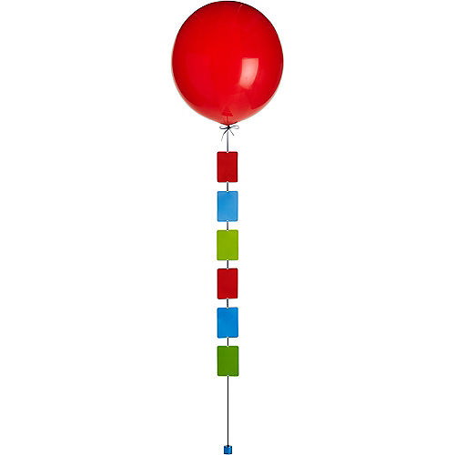 Blue, Green & Red Photo Balloon Weight Tail Image #3