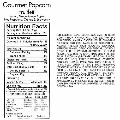 Fruitfetti Gourmet Popcorn Image #4