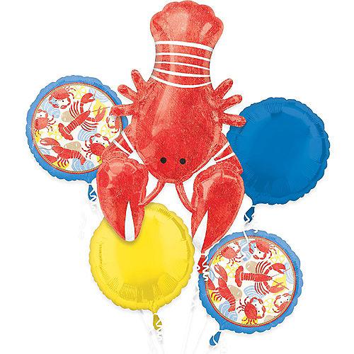 Seafood Fest Balloon Bouquet 5pc Image #1