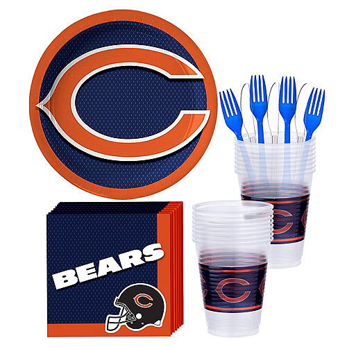 Chicago Bears Party Kit for 18 Guests Image #1