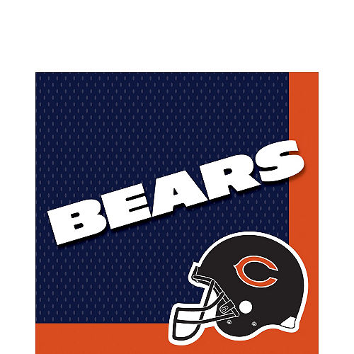 Chicago Bears Party Kit for 18 Guests Image #3